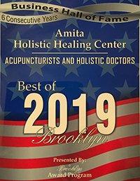Amita holistic healing center in Brooklyn, New York, US