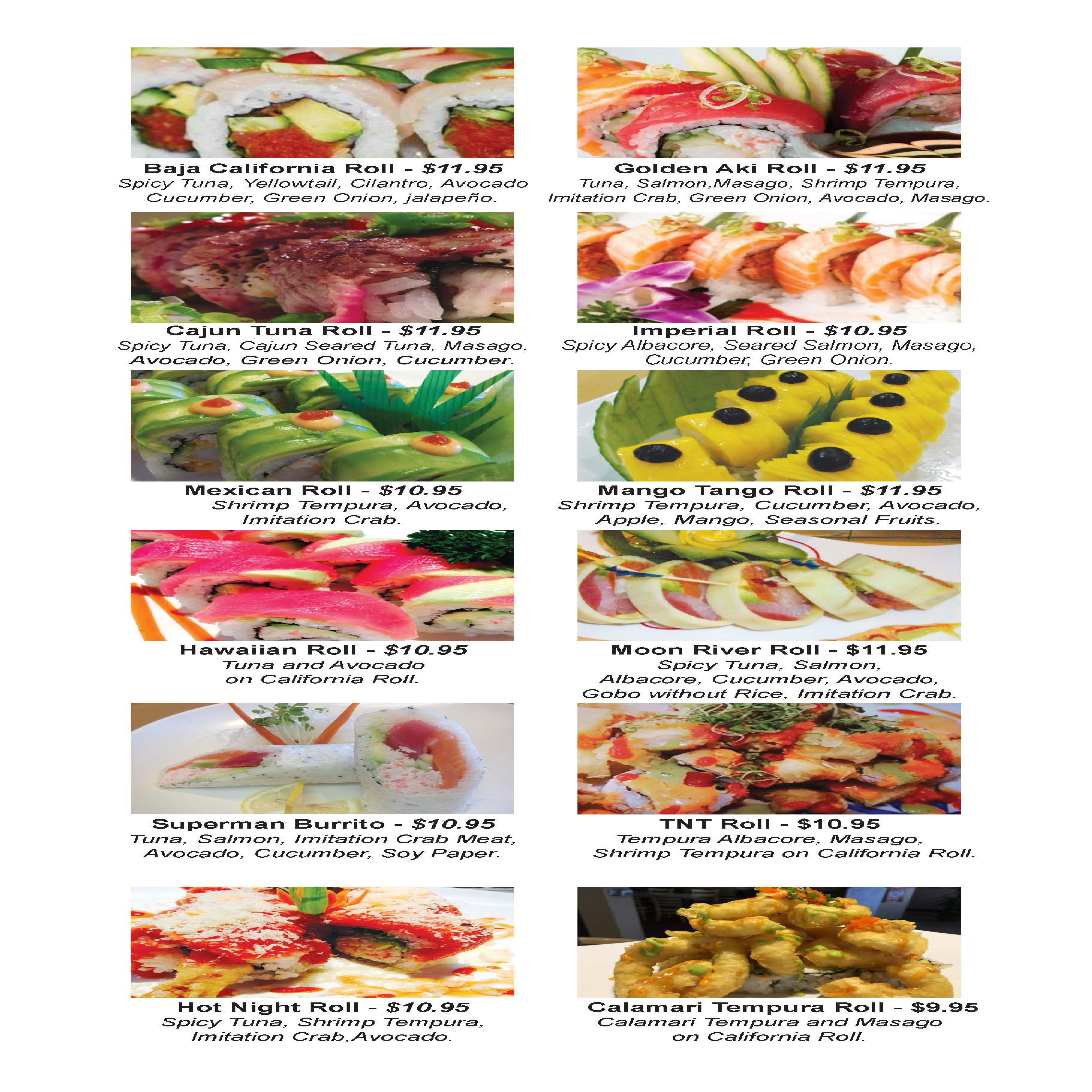 Aki Sushi - (IMAGE MENU)