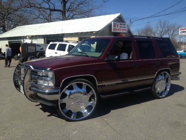SUV Big Rims