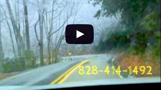 A Frozen Foggy Drive