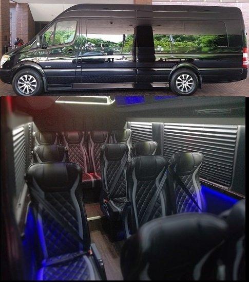 Atlanta Limo Final Four Ncaa Bus Rental Luxury Sprinter