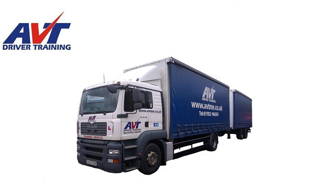 HGV Driver training with Approved Vocational training, Telford