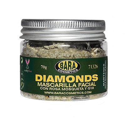 Mascarilla facial Diamonds
