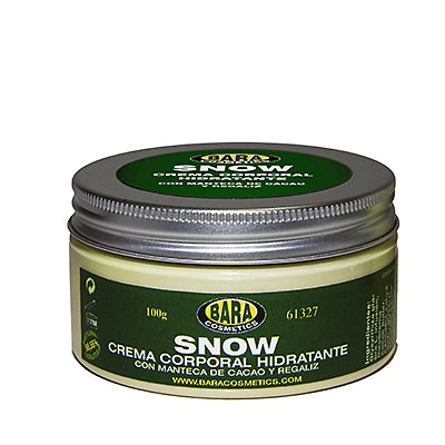 Crema corporal Snow