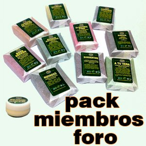 Pack de jabones exclusivo foro
