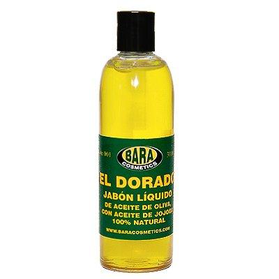 Jabon liquido de aceite de oliva El Dorado