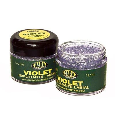 Exfoliante labial Violet