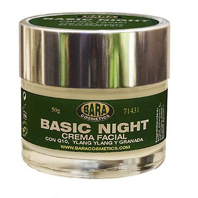 Hidratante facial Basic Night