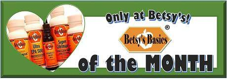 Betsy's Basics Product of the Month