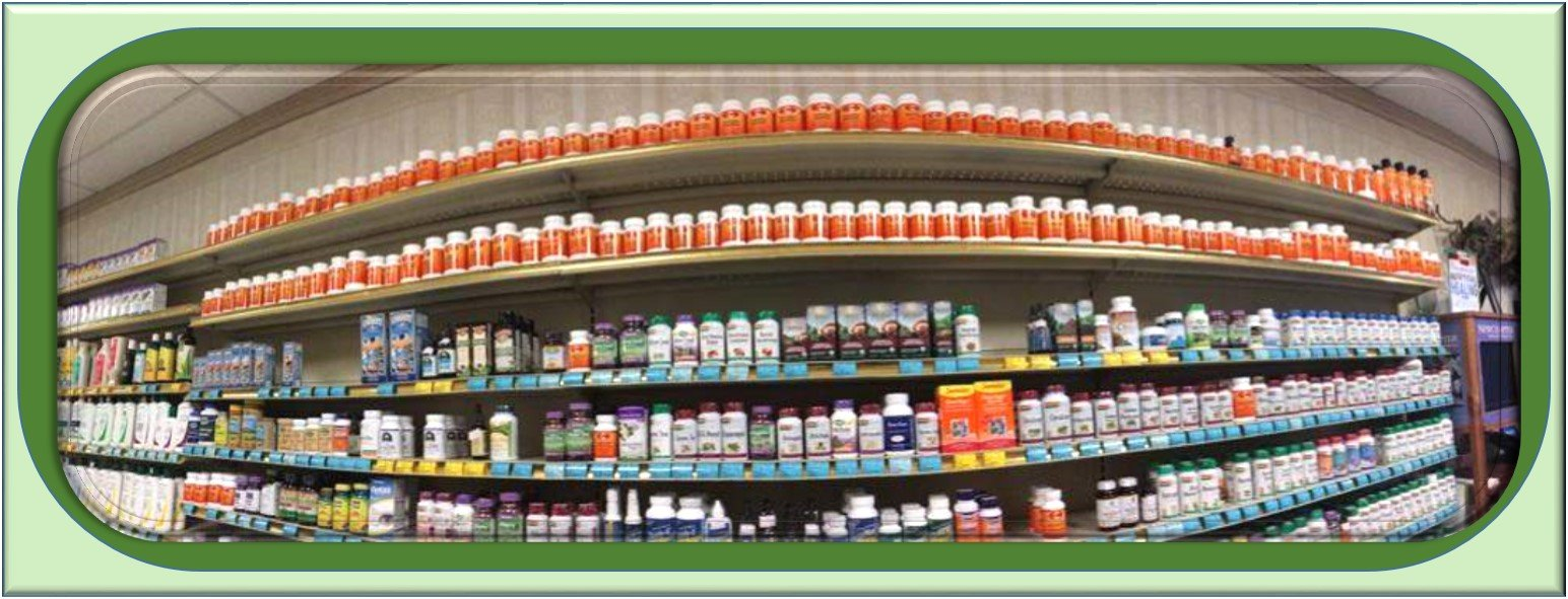 Betsy's Health Foods carries a wide variety of products