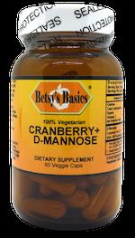 Betsy_s Basics Cranberry Plus D-Mannose