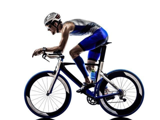 Tri-bike with Rider