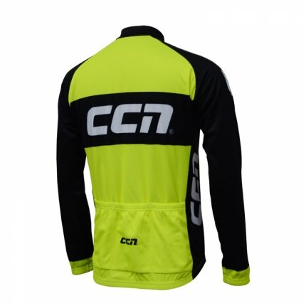 Bicycle Long Sleeve Jersey Back