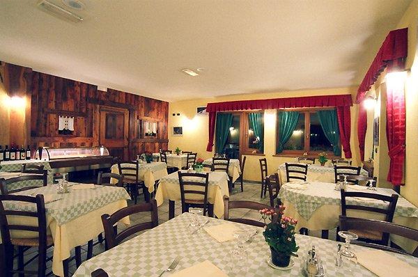Il ristorante del Camping Lac Lexert
