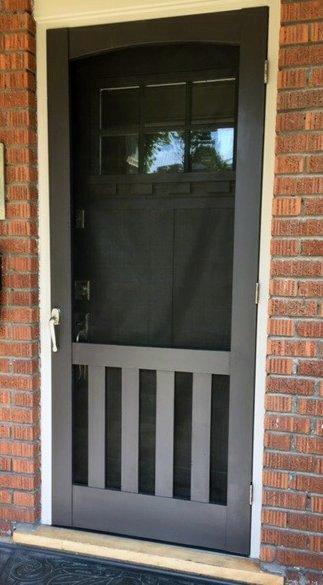 The Craftsman Screen Door