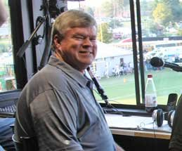 Columbia Lions Broadcast Announcer Dan Jaynes