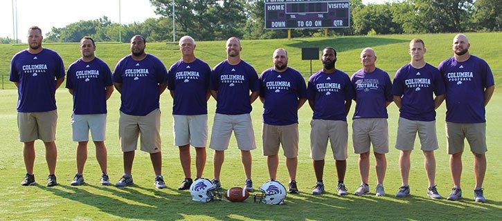 2018 Columbia Lions Football Coaches