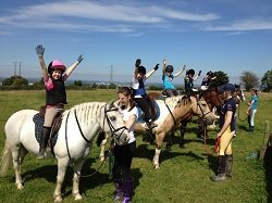 pony camp kids