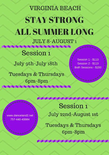 Virginia Beach, VA summer dance programs
