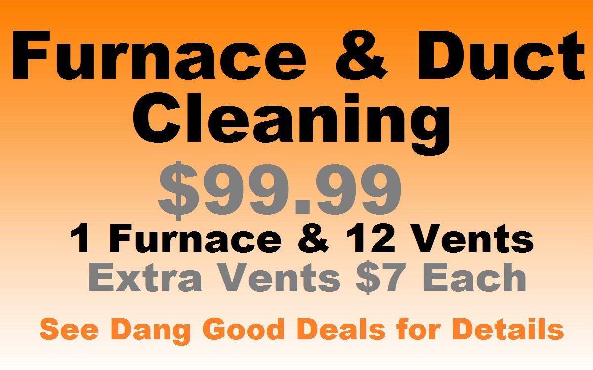 Furnace and Air Duct Cleaning Deal