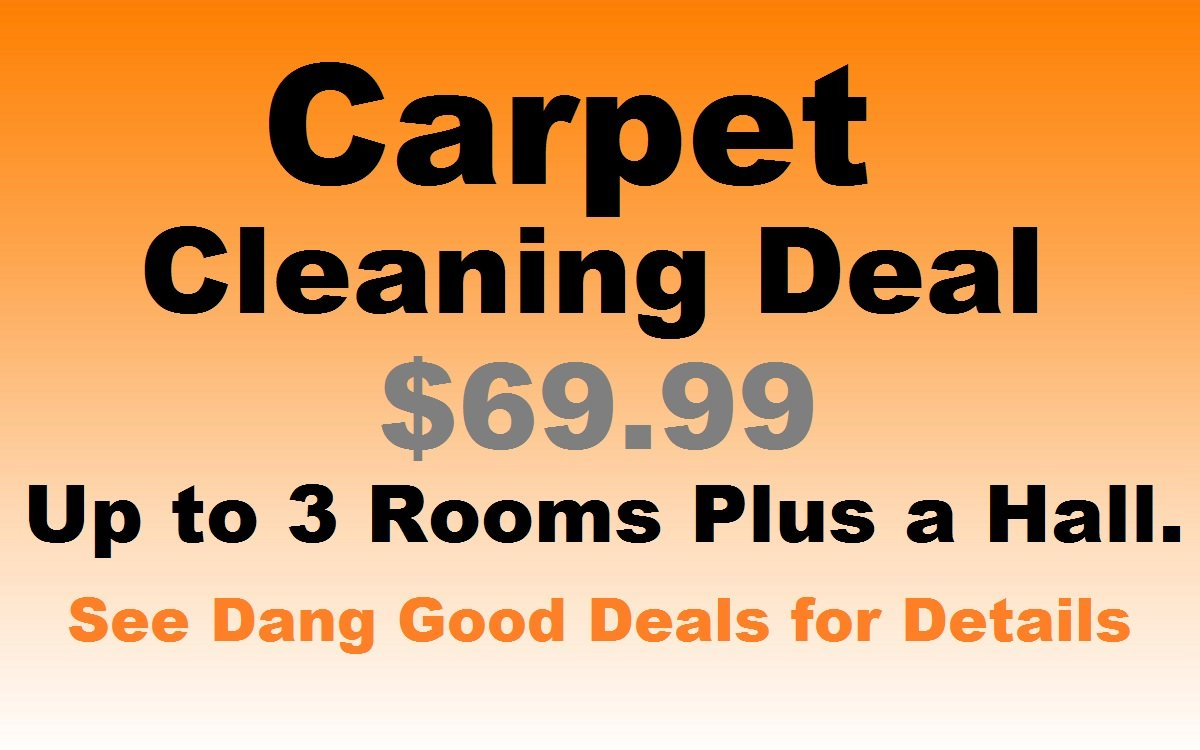 Cheapest Carpet Cleaning Deal