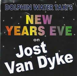 New Years Eve on Jost Van Dyke