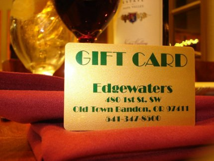 Edgewater's Gift Card