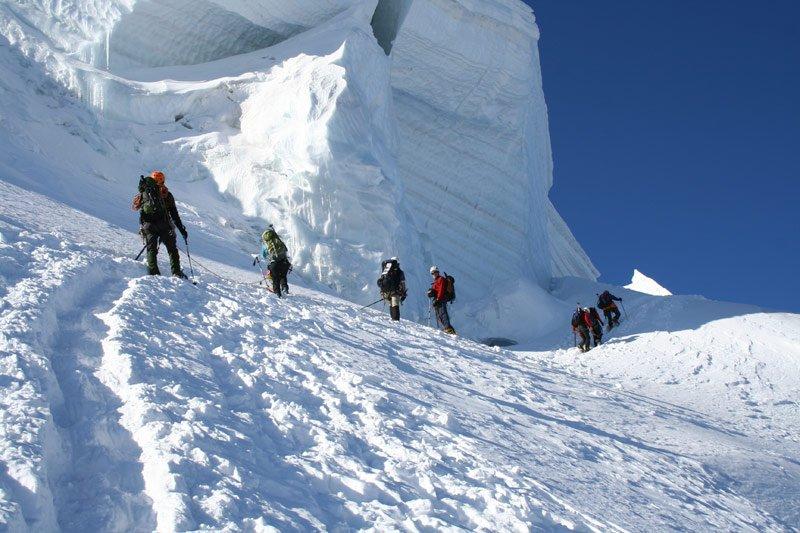 Ascent Mont-Blanc