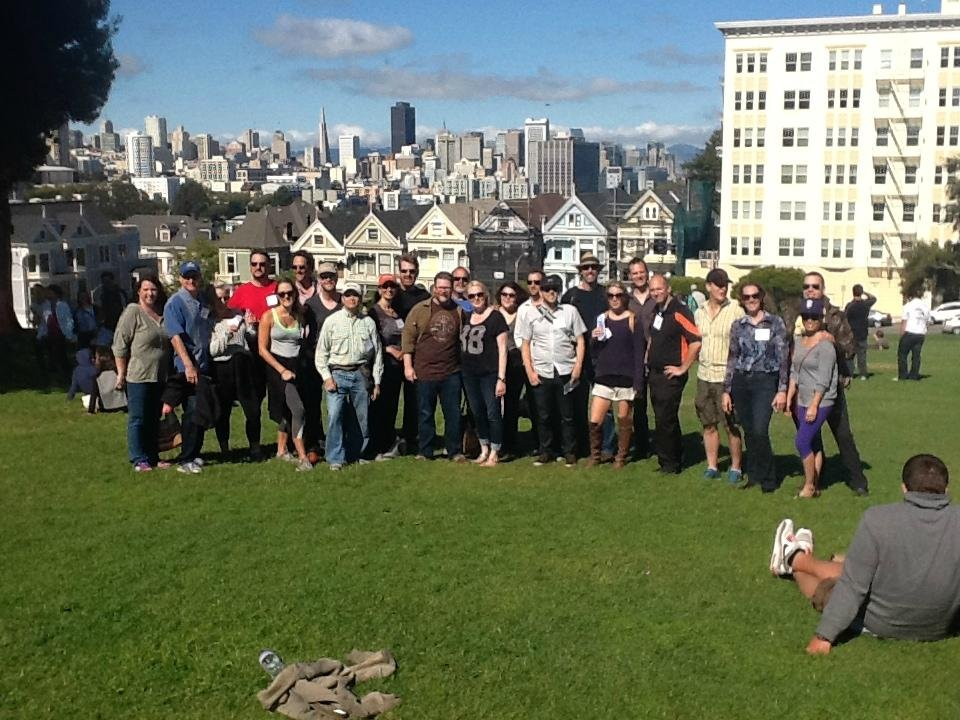 Alamo Square, Painted Ladies
