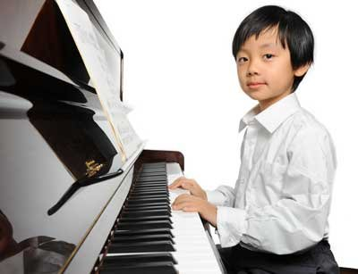 Boy With Piano