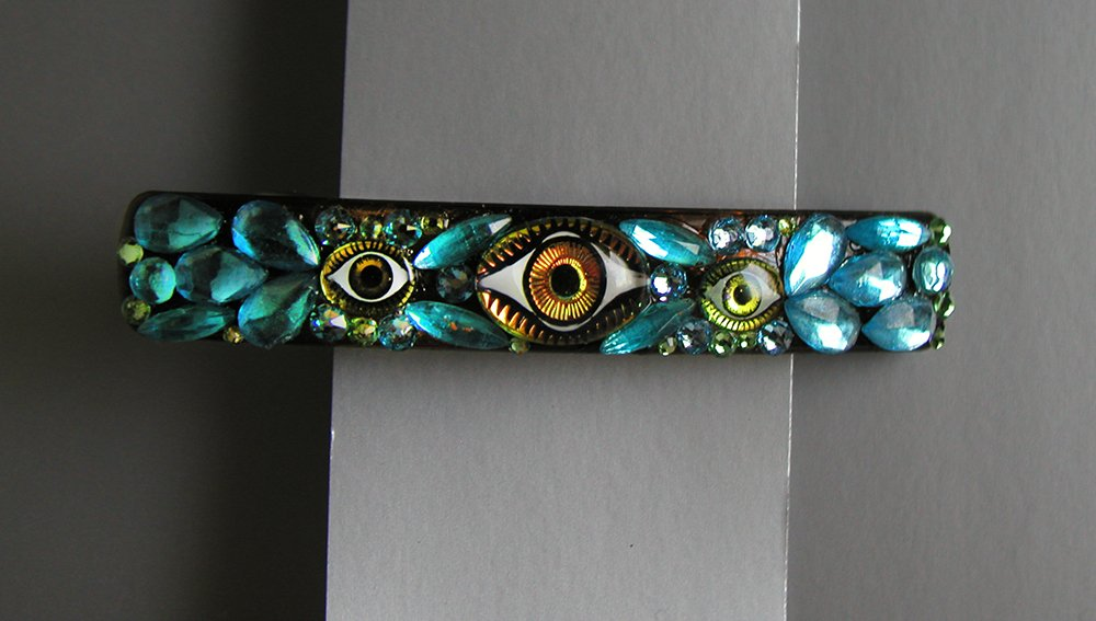 Eyeball Barrette