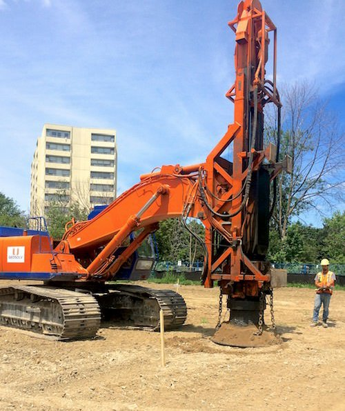 Rapid Impact Compaction in Action