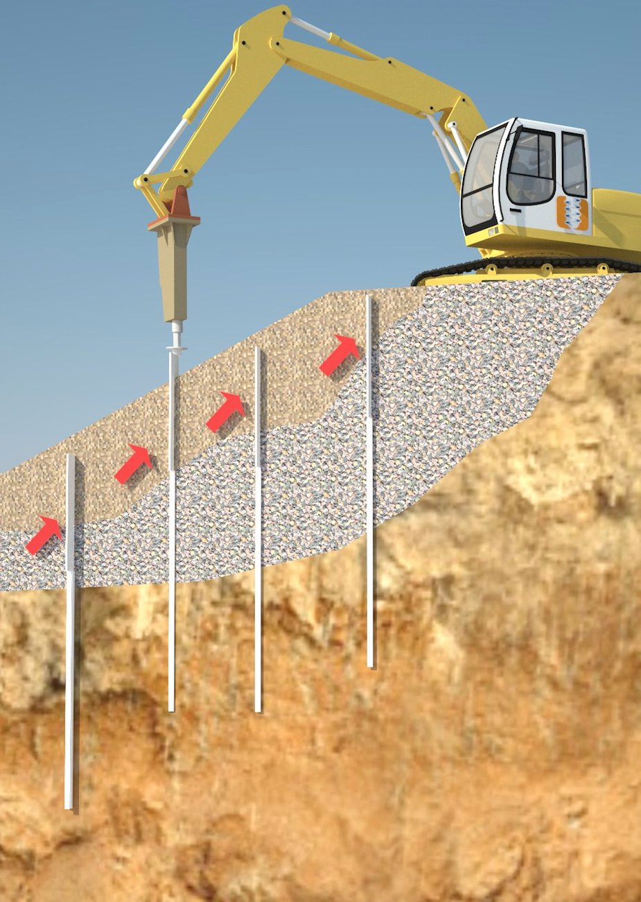 Slope Stability Installation