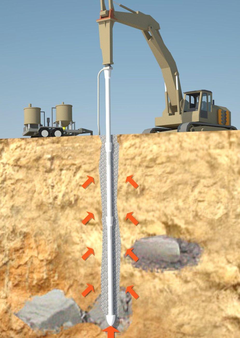 Geosolv Driven Ductile Iron Piles