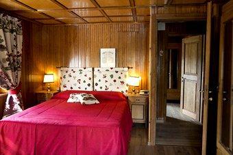Camera dell'Hotel Italia al Colle del Gran San Bernado