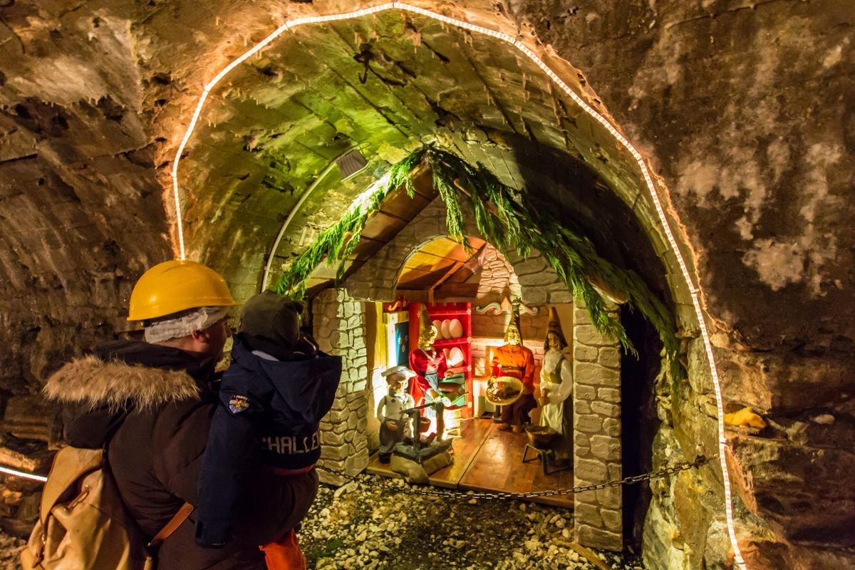 Nicchia della Grotta di Babbo Natale
