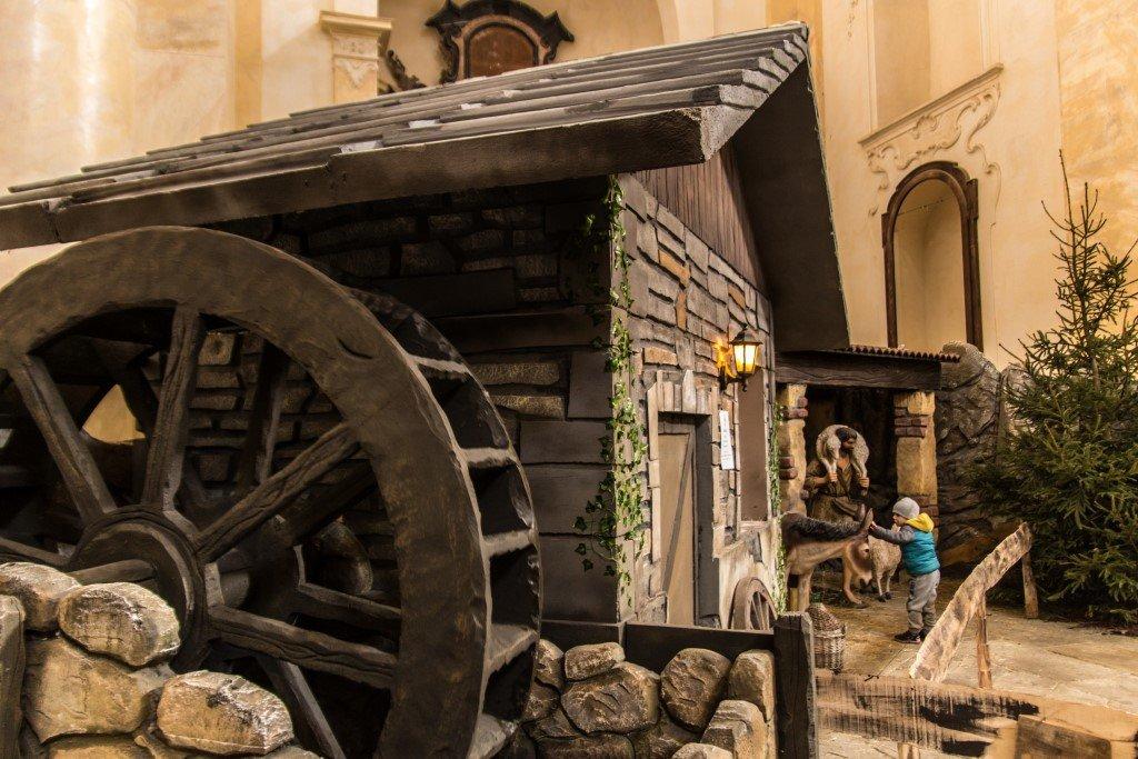 villaggio presepe Ornavasso