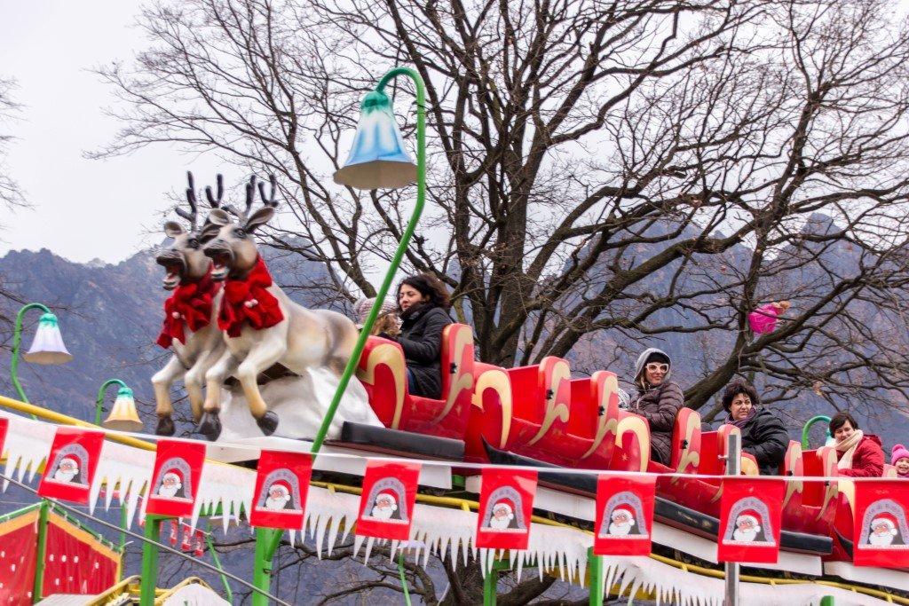 slitta di Babbo Natale ad Ornavasso