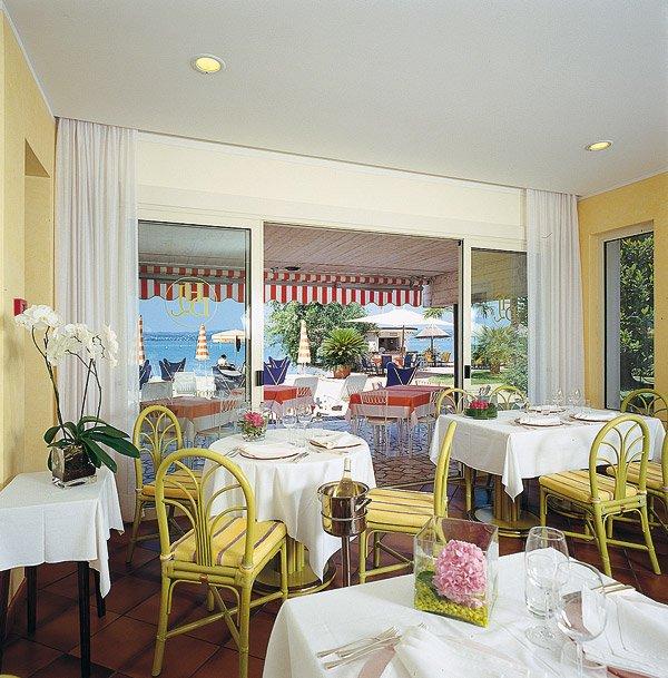 Hotel du Lac - Sirmione - Il ristorante