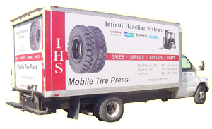 Mobile Tire Press