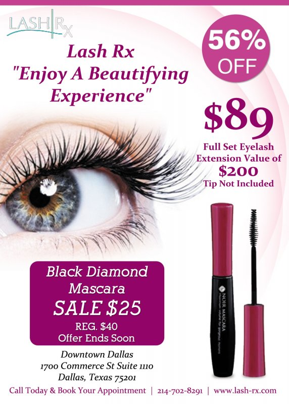 Lash Rx Brings The Best Eyelash Extensions To Dallas Tx And The