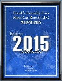 Best Car Rental Agency 2015
