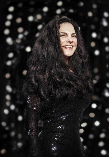 Sängerin Natalie Moon aus Köln
