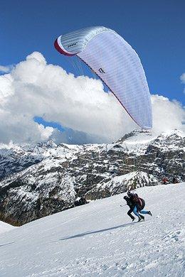 Volare in parapendio biposto in Valle d'Aosta