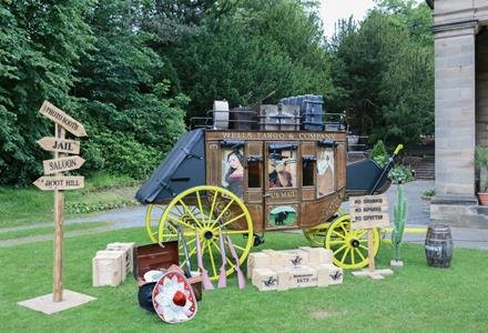 Wild West Stagecoach for hire
