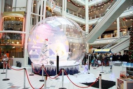 Giant Snow Globe Hire