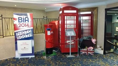 Telephone photo booth hire