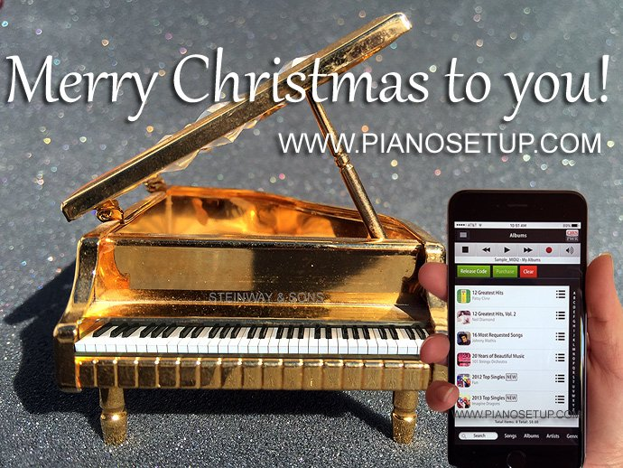player piano system