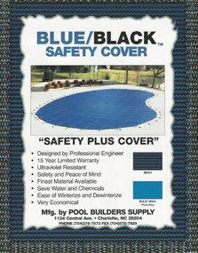 Blue/Black Safety Cover