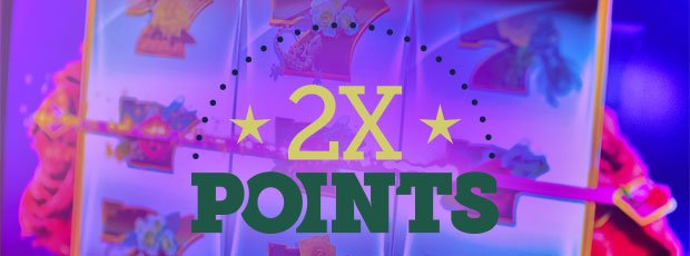 Two times the points on Wednesdays and Thursdays in January